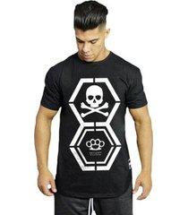 camiseta anatomica dna masculina - masculino