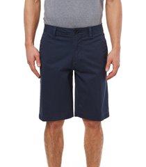 men's o'neill redwood stretch shorts, size 40 - blue