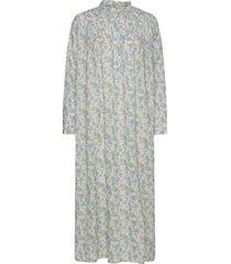 ivory dress knälång klänning blå lovechild 1979