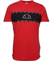 el sesia tee t-shirts short-sleeved röd ellesse