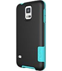 incipio ovrmld case for samsung galaxy s5 - black/turquoise - sa-531-blk - flexi
