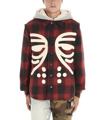 haculla masked plad jacket