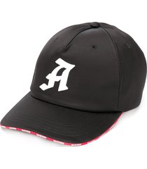 alexander mcqueen logo-print baseball cap - black