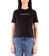 calvin klein j20j212879 t-shirt women black