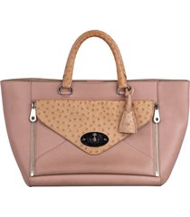 borsa donna a mano shopping tote in pelle willow