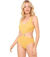 body my favorite thing(s) cut out amarelo - kanui