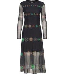 vest kingston jurk knielengte zwart desigual