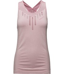 core seamless tank t-shirts & tops sleeveless rosa craft
