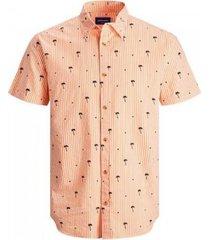 overhemd korte mouw jack & jones camisa manga corta hombre jack jones 12187951