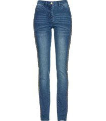 jeans elasticizzato con bande laterali (blu) - bpc selection