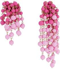 jacquemus les mimosas pendant earrings