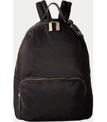 tommy hilfiger women's solid dome backpack black -