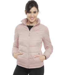 parka new balance winter core jac rosa - calce ajustado