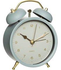 zegar stołowy budzik mate niebieski