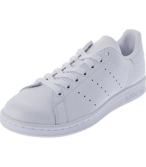 tenis lifestyle blanco adidas originals stan smith,
