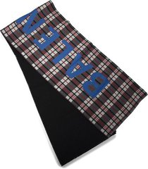 macro check print scarf