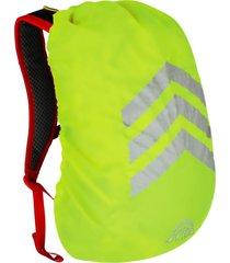 cubre mochila xs reflectante amarillo doite
