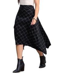 falda larga para mujer bicolor mp