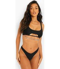 brazilian bikini broekje, black