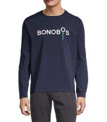 bonobos golf men's tech logo crewneck sweater - storm coat - size l