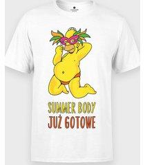koszulka summer body już gotowe dla niego