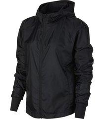 chaqueta negra nike w nk jkt hd ltwght black