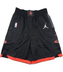 jordan houston rockets men's statement swingman shorts