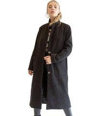 abrigo sara negro racaventura