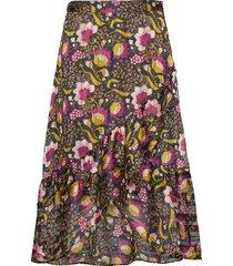 sc-addison knälång kjol multi/mönstrad soyaconcept
