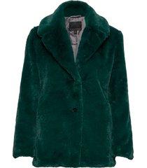 faux fur short coat outerwear faux fur grön banana republic