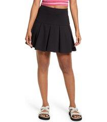 bp. knit tennis skirt, size medium in black at nordstrom