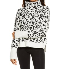 women's ugg sage cowl neck pullover, size x-large - white