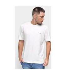 camiseta básica masculina pierre cardin malha lisa casual amarelo p off-white