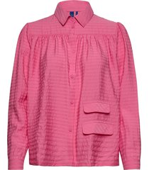 adrina shirt långärmad skjorta rosa résumé