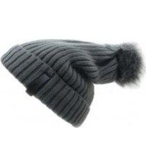 gorro de lana beanie snow 2.0 gris flaw