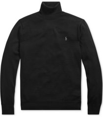 polo ralph lauren men's merino wool turtleneck sweater