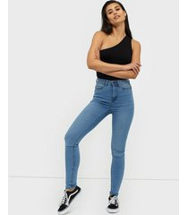noisy may nmcallie hw skinny jeans vi059lb no slim