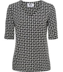 &co woman top lovi black v-hals