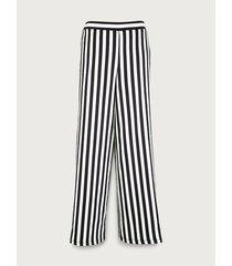 pantalón estampado de rayas para mujer 10124