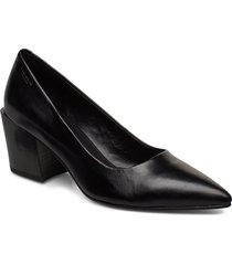 adrianna shoes heels pumps classic svart vagabond