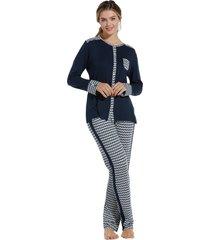 dames pyjama pastunette de luxe 25202-322-6-52