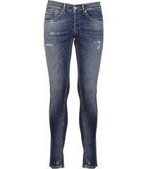 dondup slim fit distressed jeans