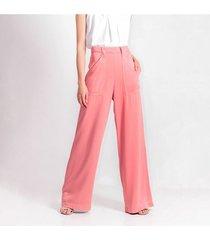pantalon para mujer en rayon rosa-mag color-rosa-mag-talla-4