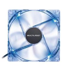 cooler fan 12x12cm led azul ga135 multilaser