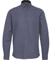 nelson button down shirt overhemd casual blauw morris