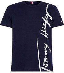 t-shirt cool large signature donkerblauw