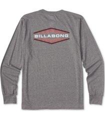billabong men's walled long-sleeve t-shirt