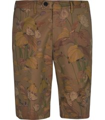 etro floral printed shorts
