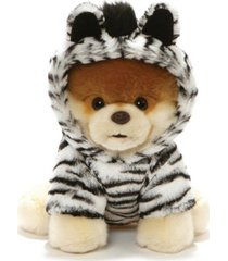 closeout! gund world's cutest dog boo zebra outfit plush stuffed animal 9""