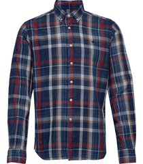 liam button down shirt overhemd casual blauw morris
